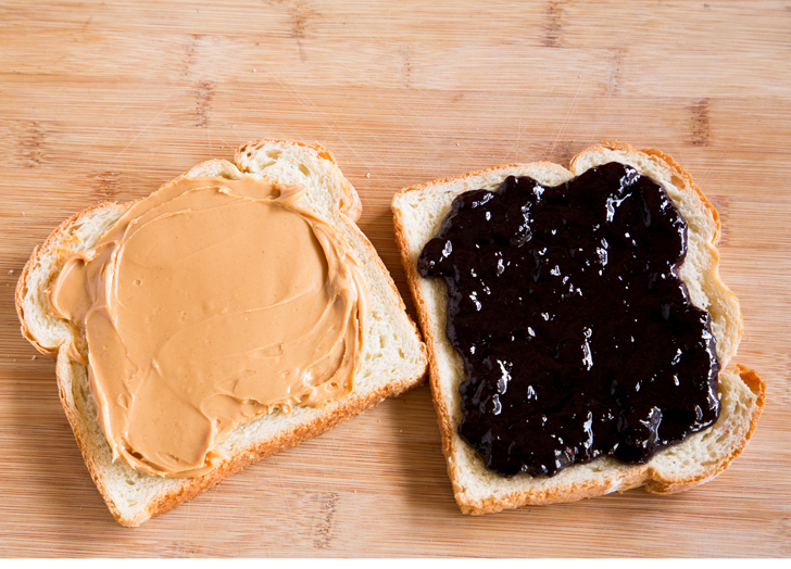 Image result for PEANUT BUTTER AND JELLY GETTY